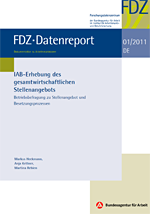 Cover FDZ Datenreport Series