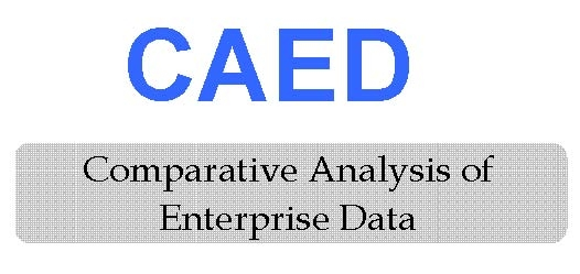 Logo CAED Comparative Analysis of Enterprise Data